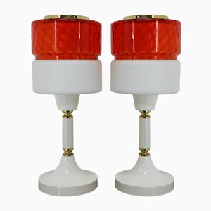 Large Table Lamps, 1960s, Set of 2