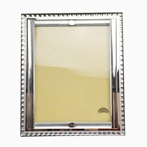 Large Vintage Art Deco French Mirror Frame by G. Escudero, 1950s