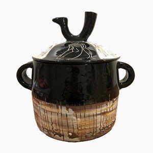 Vintage Jar from Atelier Cerenne, 1950s