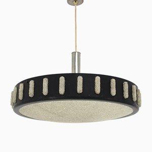 Mid-Century Black Pendant Lamp, 1960s