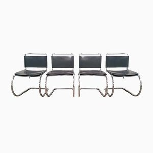Dining Chairs by Ludwig Mies van der Rohe for Knoll Inc. / Knoll International, 1970s, Set of 4