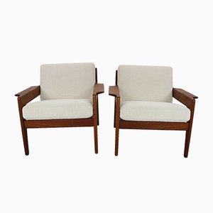 Dänische Sessel aus Teak von Arne Wahl Iversen für Komfort, 1960er, 2er Set