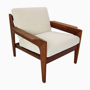 Danish Teak Lounge Chair by Arne Wahl Iversen for Komfort, 1960s