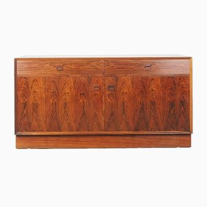 Danish Rosewood Sideboard and Bookcase Set from Brouer Møbelfabrik, 1960s