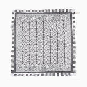 Black Tangled Up Tea Towel from Vantot