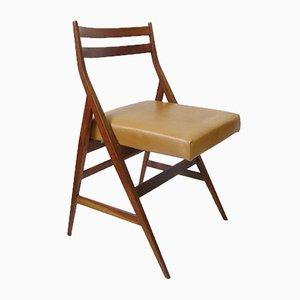 Chaise d'Appoint Pliante, 1950s