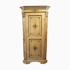 Antique Louis XIV Style Lacquered Wardrobe