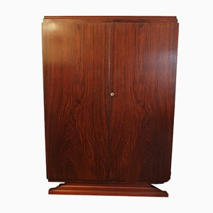 Art Deco Rosewood Library Cabinet, 1930s