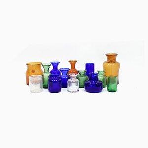 Vases by Erik Höglund for Boda, 1950s, Set of 14