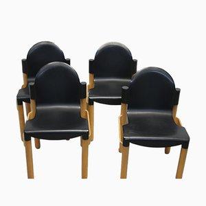 Esszimmerstühle von Gerd Lange für Thonet, 1990er, 4er Set