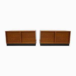 Mid-Century German Sideboards by Günter Renkel for Rego Mobile, 1960s, Set of 2