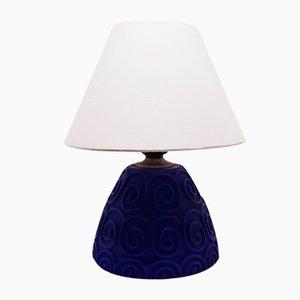 Blue Table Lamp by Antonio Abril for Lámparas Cebriá, 1999