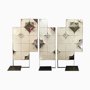 Modular Decorative Panels, 1970s, Set of 3