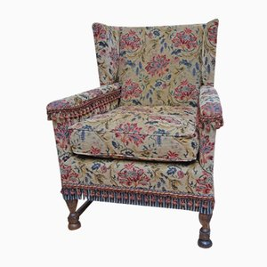 Antique Wingback Country House Armchair