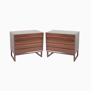 Mid-Century Mahogany Cabinets by Poul Cadovius for Cado, 1960s, Set of 2