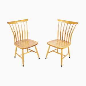 Model SZ03 Dining Chairs by Bengt Akerblom & Gunnar Eklof for Akerblom, 1950s, Set of 2