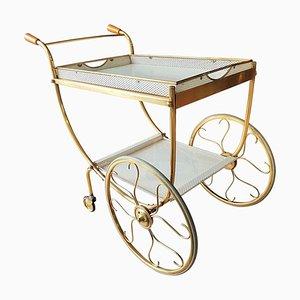 Chariot de Bar en Laiton par Josef Frank pour Svenskt Tenn, 1958