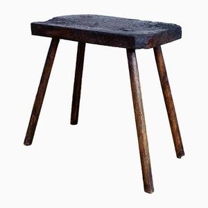 Vintage Farmhouse Stool, 1930s