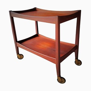 Danish Teak Bar Cart, 1960s