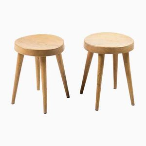 Mid-Century Stools by Charlotte Perriand for Steph Simon, Set of 2