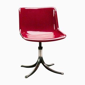 Silla de escritorio de Osvaldo Borsani para Tecno, años 60