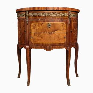 French Rosewood Demilune Dresser, 1950s