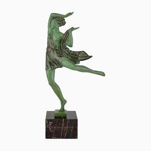Skulptur von Fayral für Max Le Verrier, 1930er