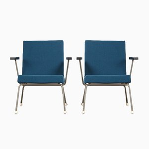 Model 1401 Lounge Chairs by Wim Rietveld for Gispen, 1960s, Set of 2