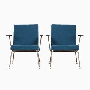 Modell 1401 Sessel von Wim Rietveld für Gispen, 1960er, 2er Set