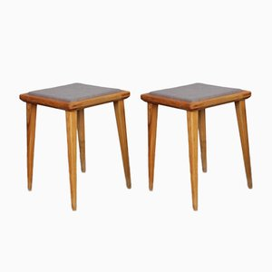 Stools by Franciszek Aplewicz for LAD, 1960s, Set of 2