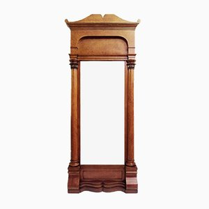 Miroir Biedermeier Antique en Merisier