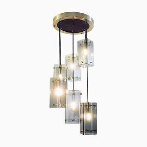 Italienische Vintage Deckenlampe aus Muranoglas