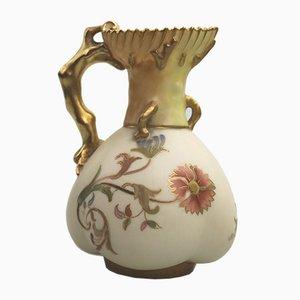 Antiker Jugendstil Modell Blush Ivory Krug von Royal Worcester, 1890er