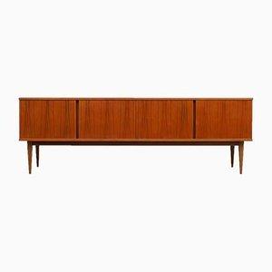 Großes Sideboard aus Nussholzfurnier von WK Möbel, 1960er
