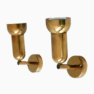 German Brass Sconces from Cosack, 1970s, Set of 2