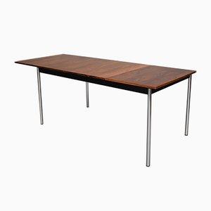 Esstisch & Stühle aus Palisander & Chrom von Sven Ivar Dyste für Thereca, 1960er