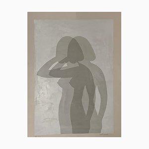 Póster Silhouette de Berto Ravotti, años 70