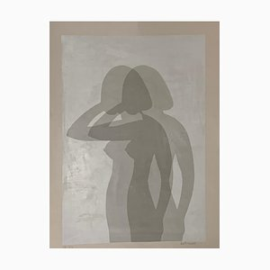 Affiche Silhouette par Berto Ravotti, 1970s