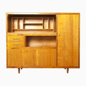 Mueble de abedul rubio y haya, años 50