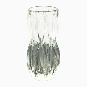 Mid-Century Modell 1032 Vase von J. Schmida für Rosice Glassworks, 1960er