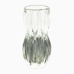 Vase Modèle 1032 Mid-Century par J. Schmida pour Rosice Glassworks, 1960s
