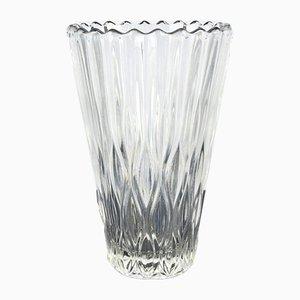Glass Vase by Jiří Řepásek for Poděbrady, 1960s