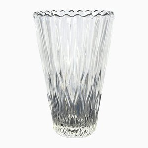 Vaso in vetro di Jiří Řepásek per Poděbrady, anni '60