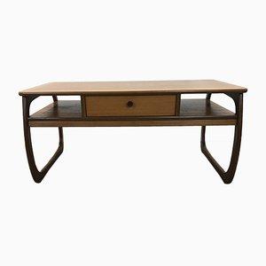 Tavolino da caffè nr. 5434 Mid-Century impiallacciato in teak di Nathan Furniture