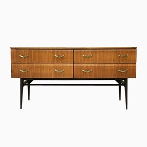 Walnut Compact Sideboard from Meredew, 1960s