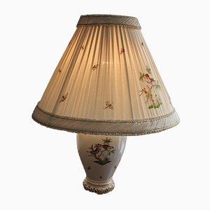 Vintage Tischlampe von Herend Porzellan, 1950er