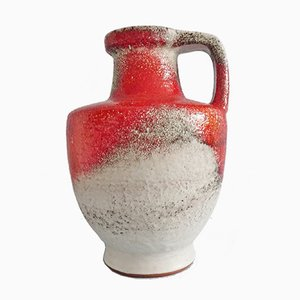 Vaso di Fridegart Glatzle per Karlsruher Majolika, Germania, anni '60