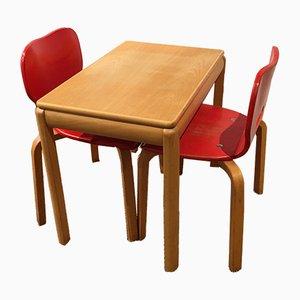 Juego de mesa y sillas infantil de Rabo, 1994