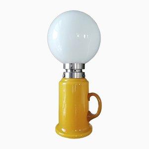 Lámpara de mesa italiana de Aldo Nason para Mazzega, años 70