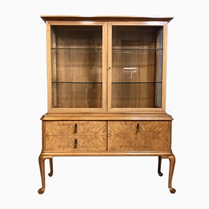 Antique Chippendale Showcase Cabinet